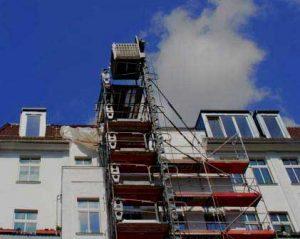 Reabilitações de fachadas