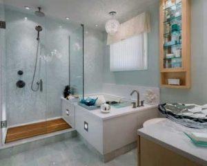 Remodelação de casa de banho banheira e duche