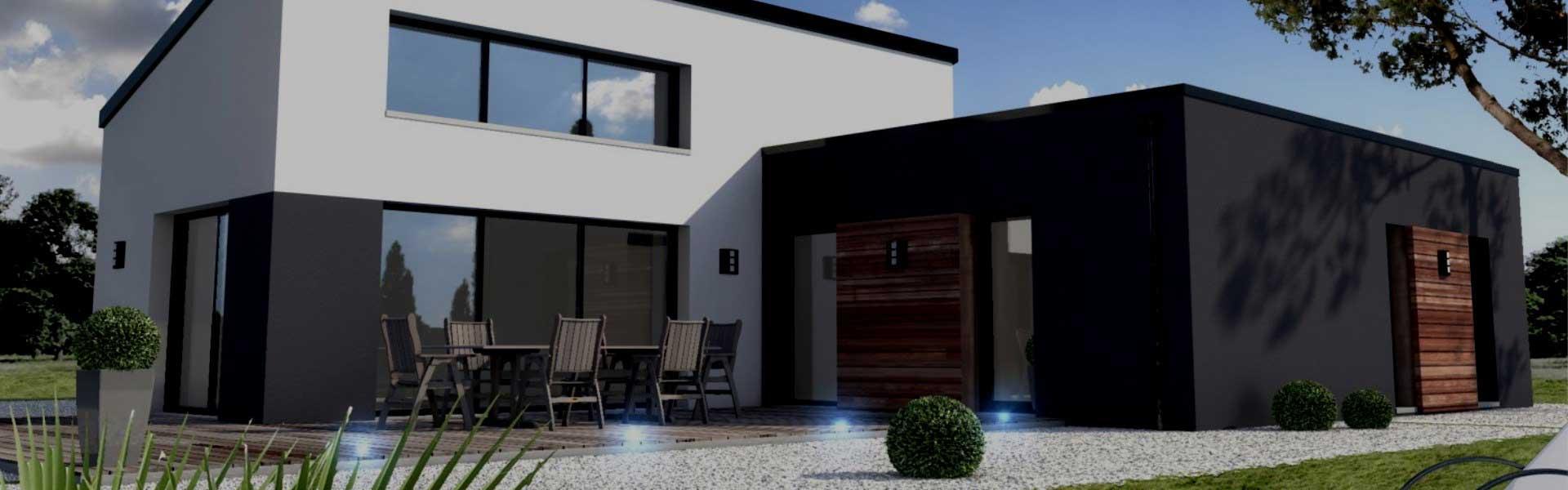 Constru o de casa moderna casa amarela obras for Casa moderna 2017