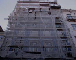 Obras de reabilitação de edifícios
