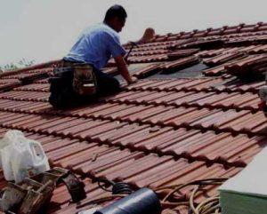 Recuperação de telhados substituir telhas